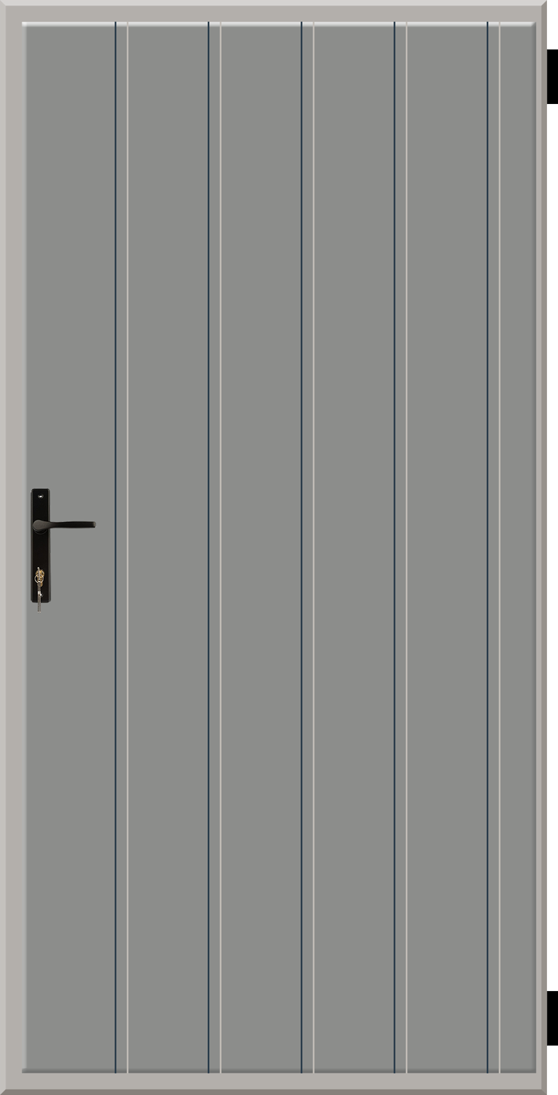 Tłoczenie pionowe co 17 cm
